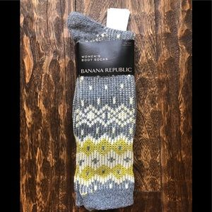 NWT Banana Republic Women's Boot Socks